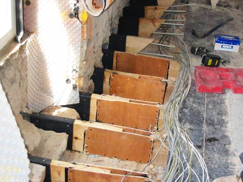 Repairing joists effected by Dry Rot