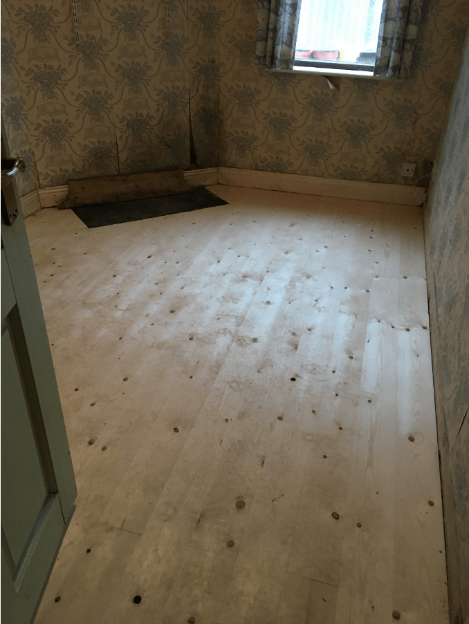 Wet Rot Rear room finished